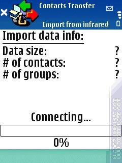 Обзор программы Contacts Transfer (S60 3rd)
