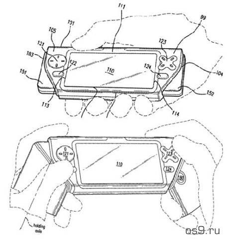 Nokia запатентовала конструкцию игрового телефона