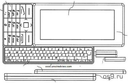 Nokia запатентовала концепт тройного слайдера